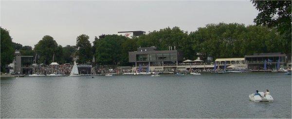 Aasee-Terrassen in Münster
