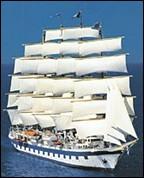 Windjammer-Kreuzfahrten mit dem 5-Master Royal Clipper! Hier clicken!